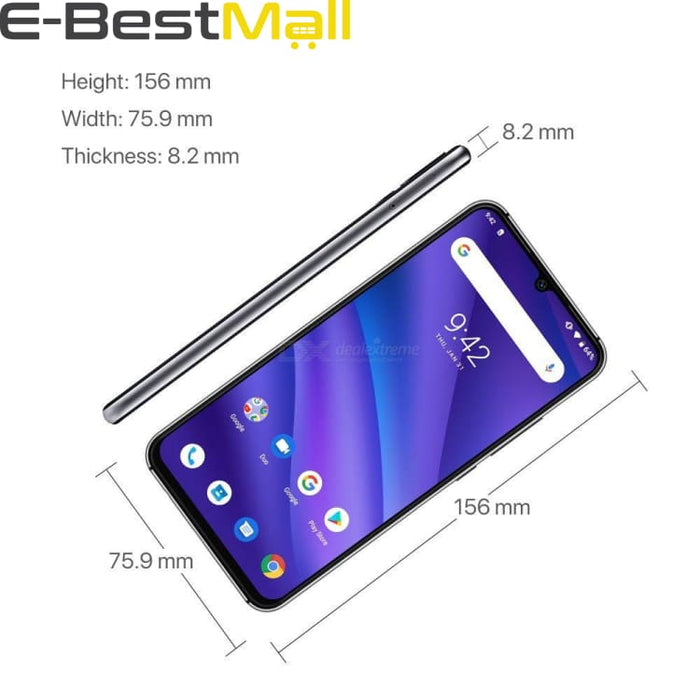 UMIDIGI A5 PRO Android 9.0 Octa Core 32GB 6.3 FHD+ Waterdrop 16MP Triple Camera Dual 4G 4150mAh 4GB RAM 4G Celular Smartphone - mobile phone
