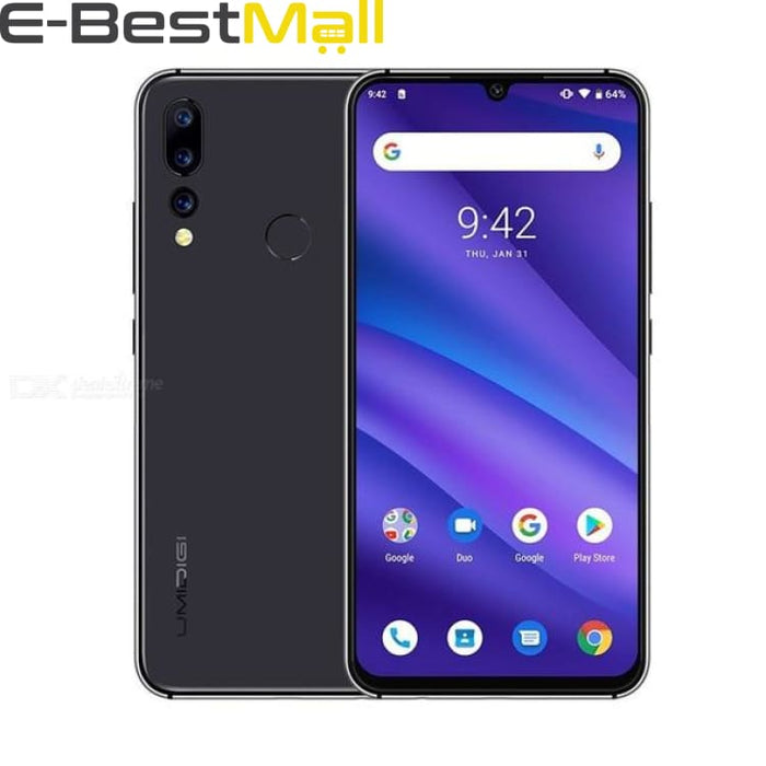UMIDIGI A5 PRO Android 9.0 Octa Core 32GB 6.3 FHD+ Waterdrop 16MP Triple Camera Dual 4G 4150mAh 4GB RAM 4G Celular Smartphone - EU Country /