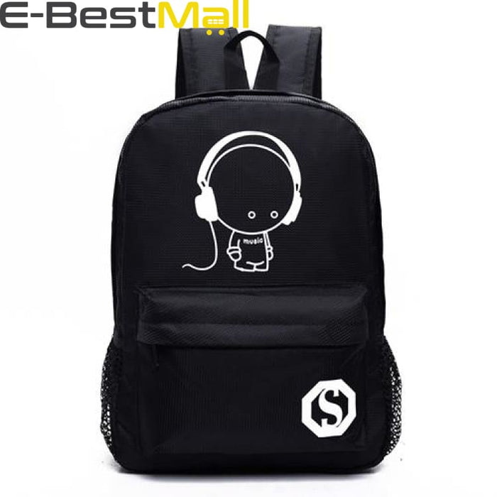 Unisex Backpack Luminous - 9 - Backpack