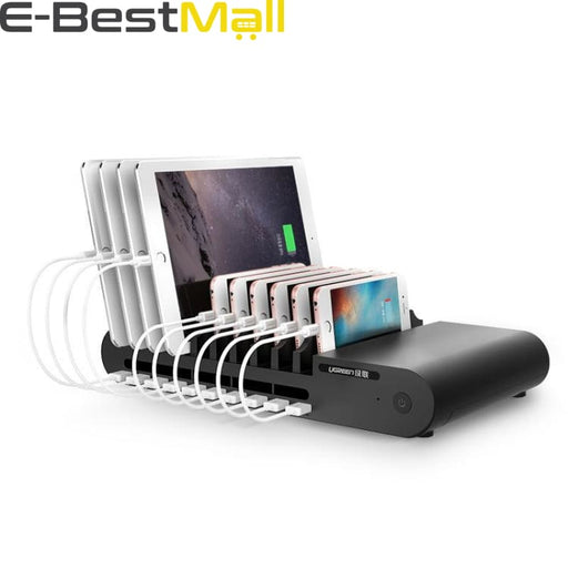 USB Charging Station 10Ports 96W 18A - Mobile Phone Chargers