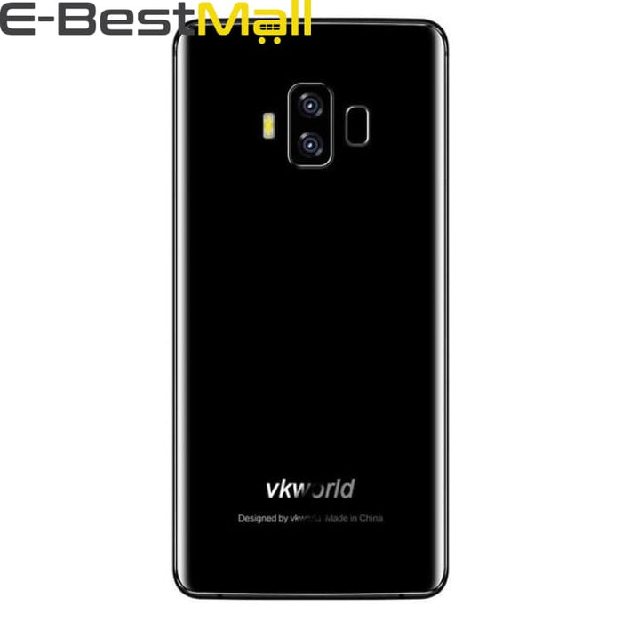 VKworld S8 4GB+64GB 4G Mobile Phone Dual Back Camera Face ID Smartphone 5500mAh 5.99 Android 7.0 MTK6750T Octa Core Cell Phone - Add Free