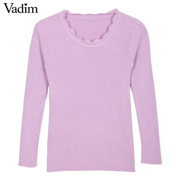 Warm Pullover For Women - Pullovers