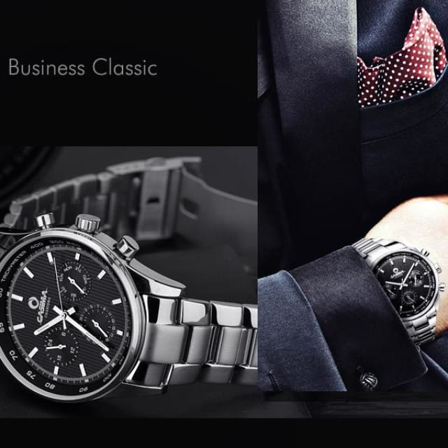 watches men Business classic dress quartz wirst watch mens waterproof 2018