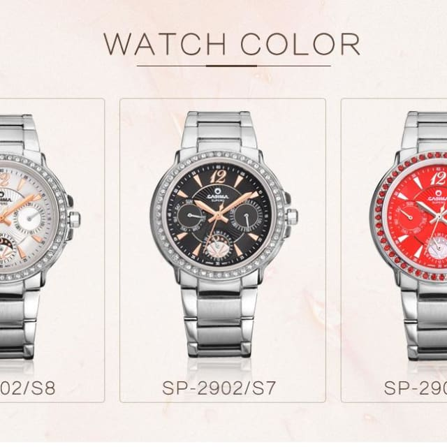 Watches Women Stainless Steel Quartz Wrist Watches for Women 2018 Fashion Casual Waterproof 50m - Fashion & Business