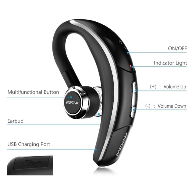 Wireless Bluetooth 4.1 Headset with CSR