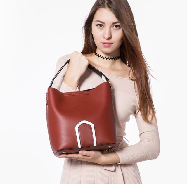 Women handbag high quality PU female shoulder crossbody bag retro messenger bags for women 2018 tote famous brands - Handbags
