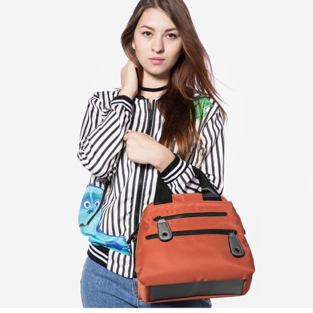 Women Nylon Waterproof Handbag Travel Casual Shoulder Bag Large Capacity Crossbody Bags Fashion Ladies Zipper Handbags - Shoulder & Handbags