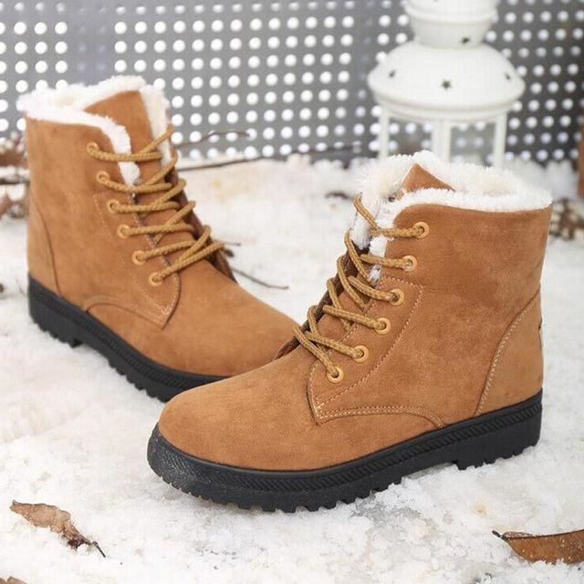 women shoes fashion heels winter boots - Yellow / 5