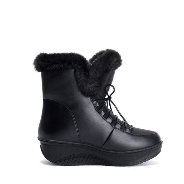 Women Snow Boots with faux Fur - Snow Boots
