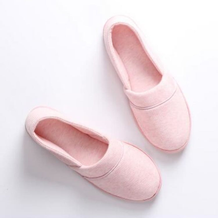 Womens Slippers With Soft Outsole - Cotton-Padded - Slippers