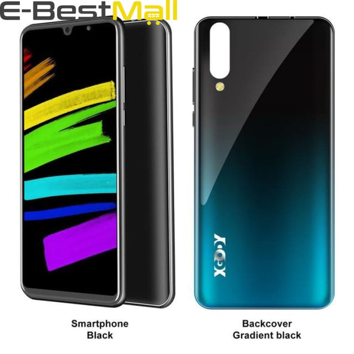 XGODY P30 3G Smartphone 6 18:9 Android 9.0 2GB RAM 16GB ROM MTK6580 Quad Core Dual Sim 5MP Camera 2800mAh GPS WiFi Mobile Phone - Standard /