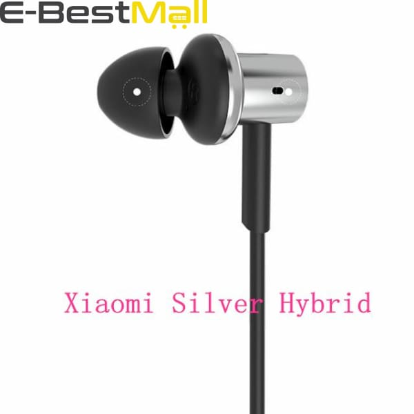 Xiaomi - In-Ear Hybrid Pro HD  - Silver Hybrid - Earphones & Headphones