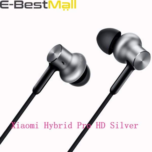 Xiaomi - In-Ear Hybrid Pro HD  - Silver Hybrid Pro HD - Earphones & Headphones
