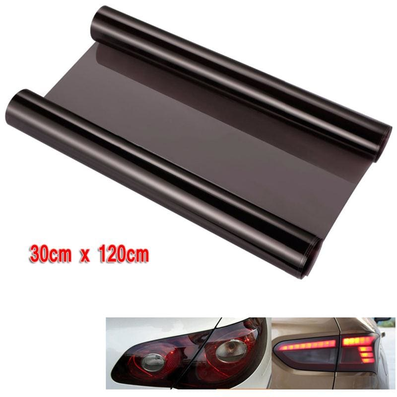 30*120cm Car Smoke Fog Light Headlight Taillight Tint Vinyl