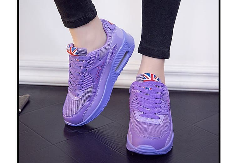 PINSV Fashion Women Running Shoes