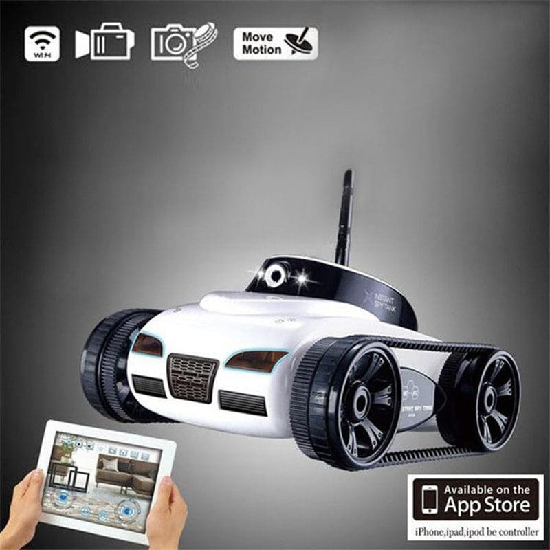 Remote Control Mini WiFi RC Car Camera Real-time Tank Kids Toy For Iphone IOS For Android Smart Phone