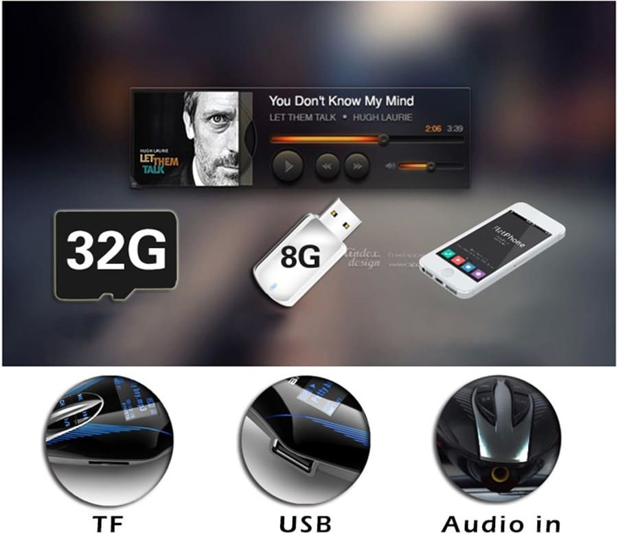Wireless FM Transmitter Car Mp3 Player With Remote Control - 3 Colors