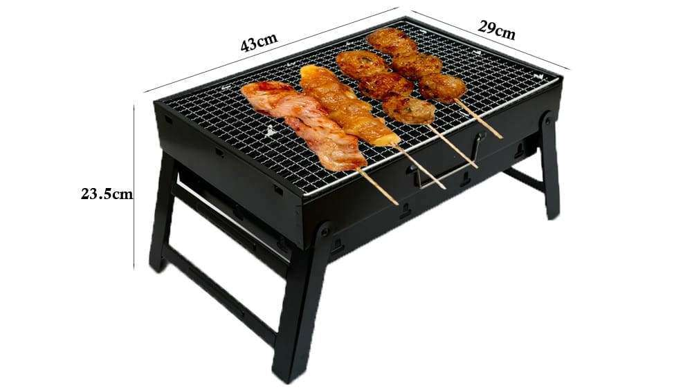 Size of BBQ Grill