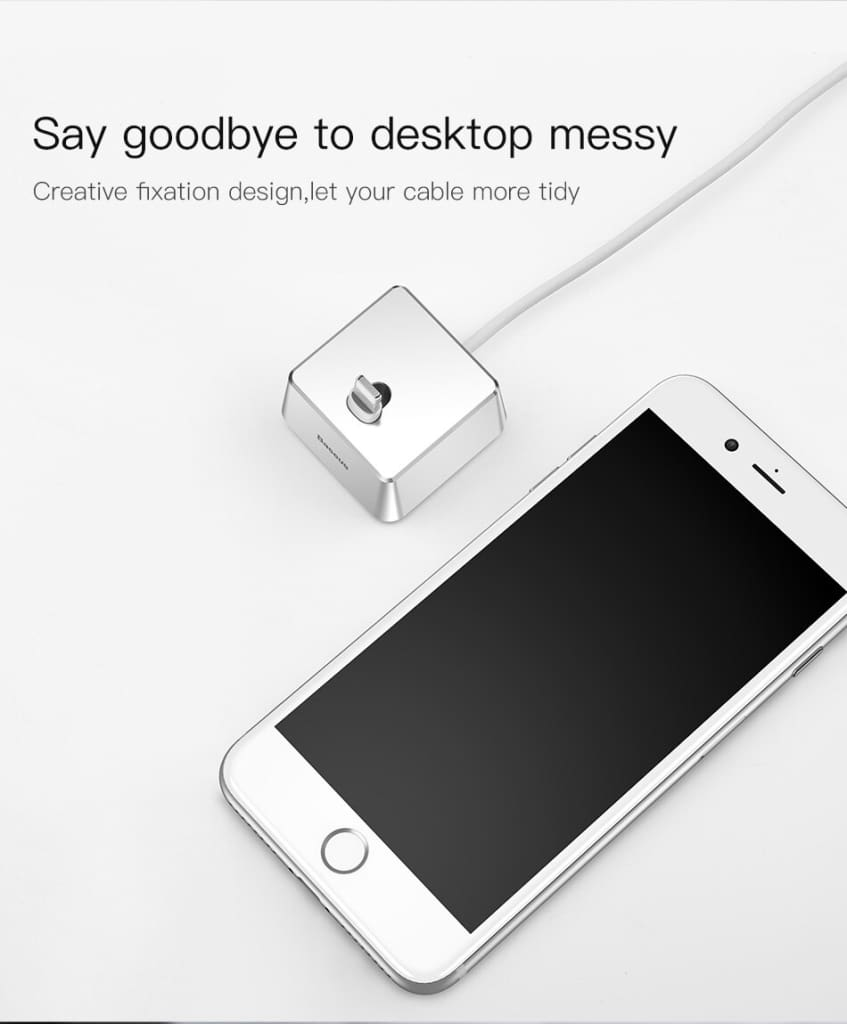 Portable Desktop Charger Holder For iPhone X 8 7 6 Plus