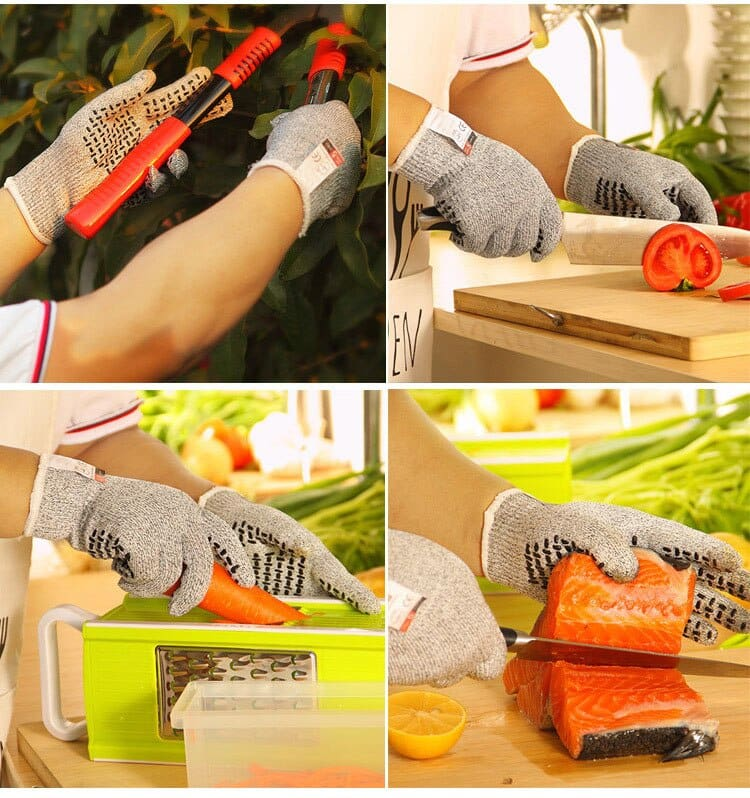 Professional Anti-cut gloves CE Standard Level 5 Cut resistant Non-slip Safety Gloves Multi-function For Working Home Kitchen (11)
