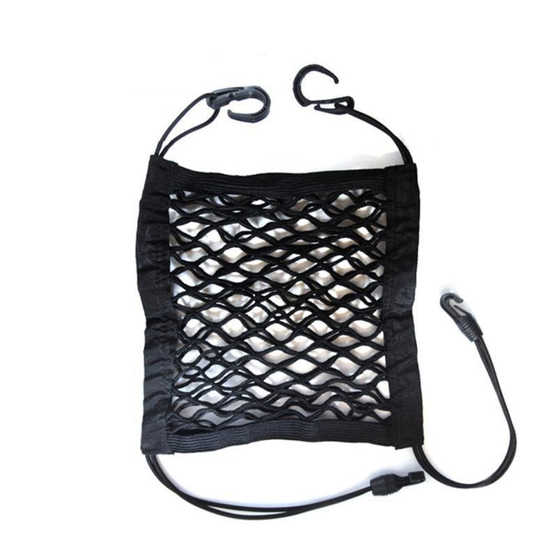 Universal Elastic Mesh Net Bag Between Car Organizer