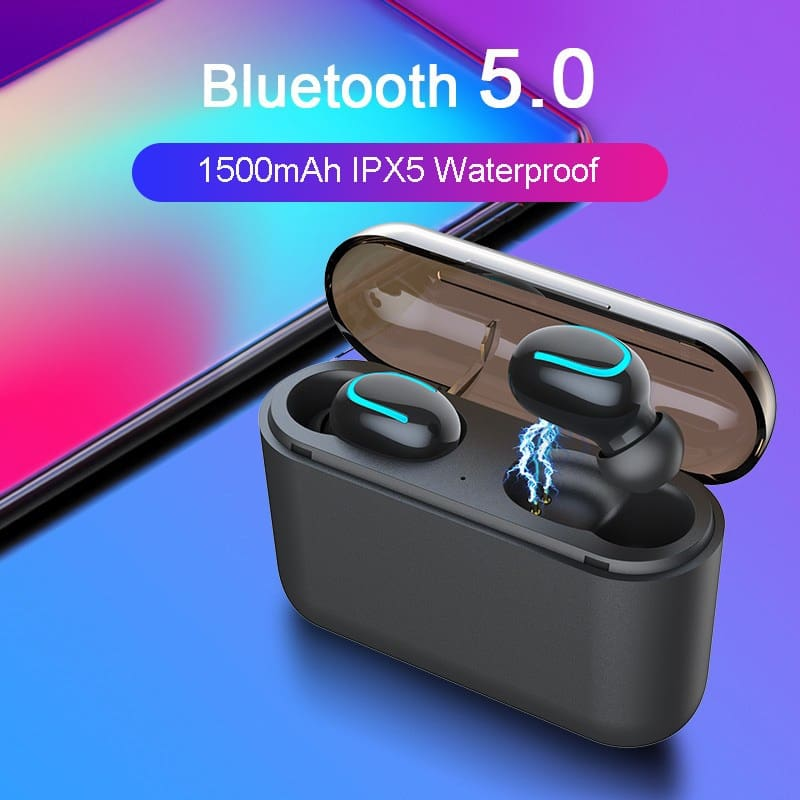 Bluetooth 5.0 Earphones TWS Wireless Headphones Earphone Handsfree Sports Earbuds Gaming Headset Phone PK HBQ