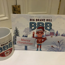 Big Brave Bill Christmas Cards