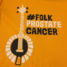 Folk Prostate Cancer short sleeved T-shirt