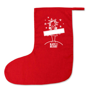 Kate Rusby Lucky Christmas Stocking filled with surprises
