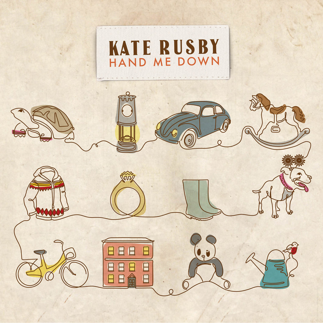Hand Me Down Vinyl Limited Edition - 22/01/2021