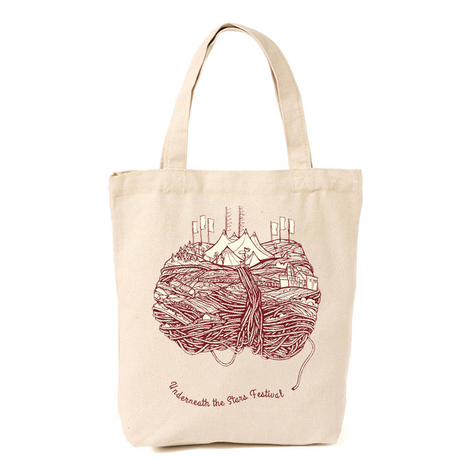 Underneath the Stars Festival Shopper Bag