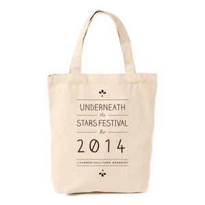 Underneath the Stars Festival Shopper Bag 2014