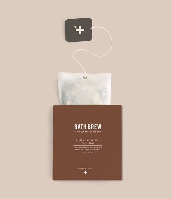Bath Brew-Giant Tea Bag For The Bath