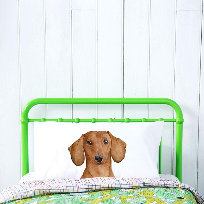 Pillowcase- Duke the Dachshund