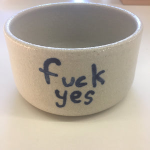 Fuck Yes Planter