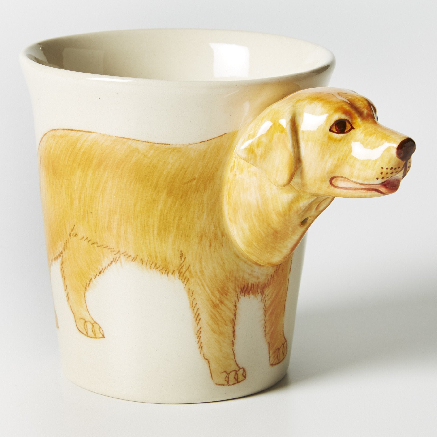 Tailwagger Mug- Golden Lab