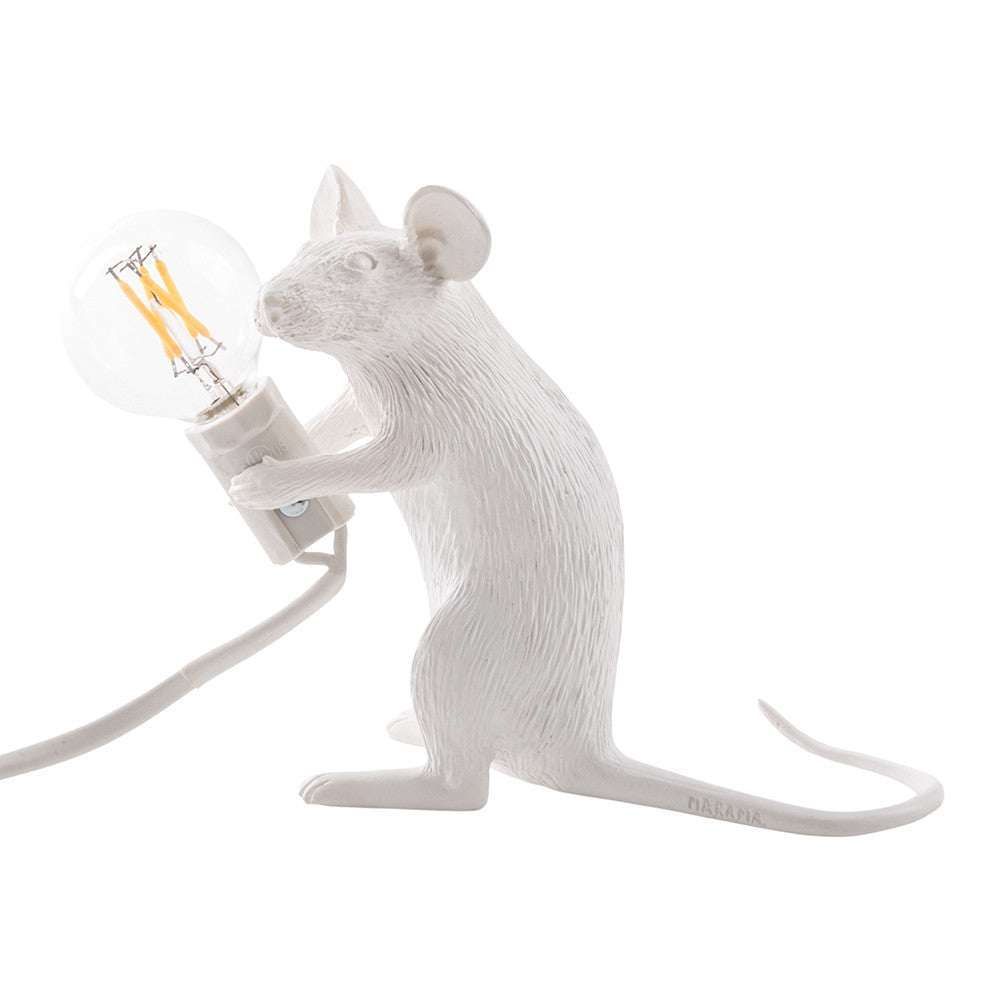 Mouse Lamp- Sitting