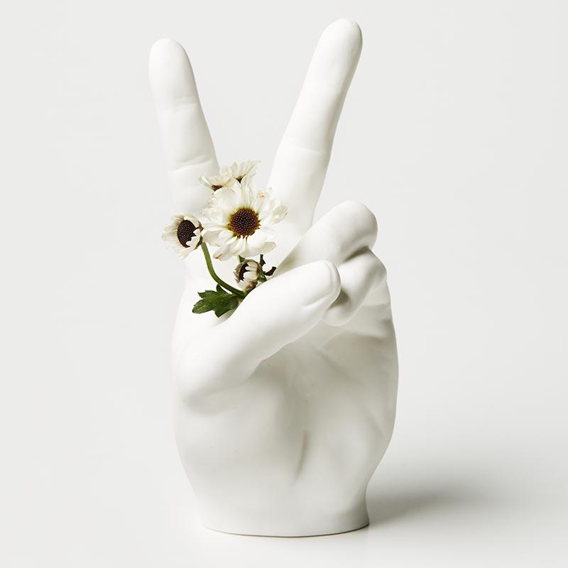Peace Hand Vase