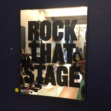 Morning Glory Mirror- Rock that Stage