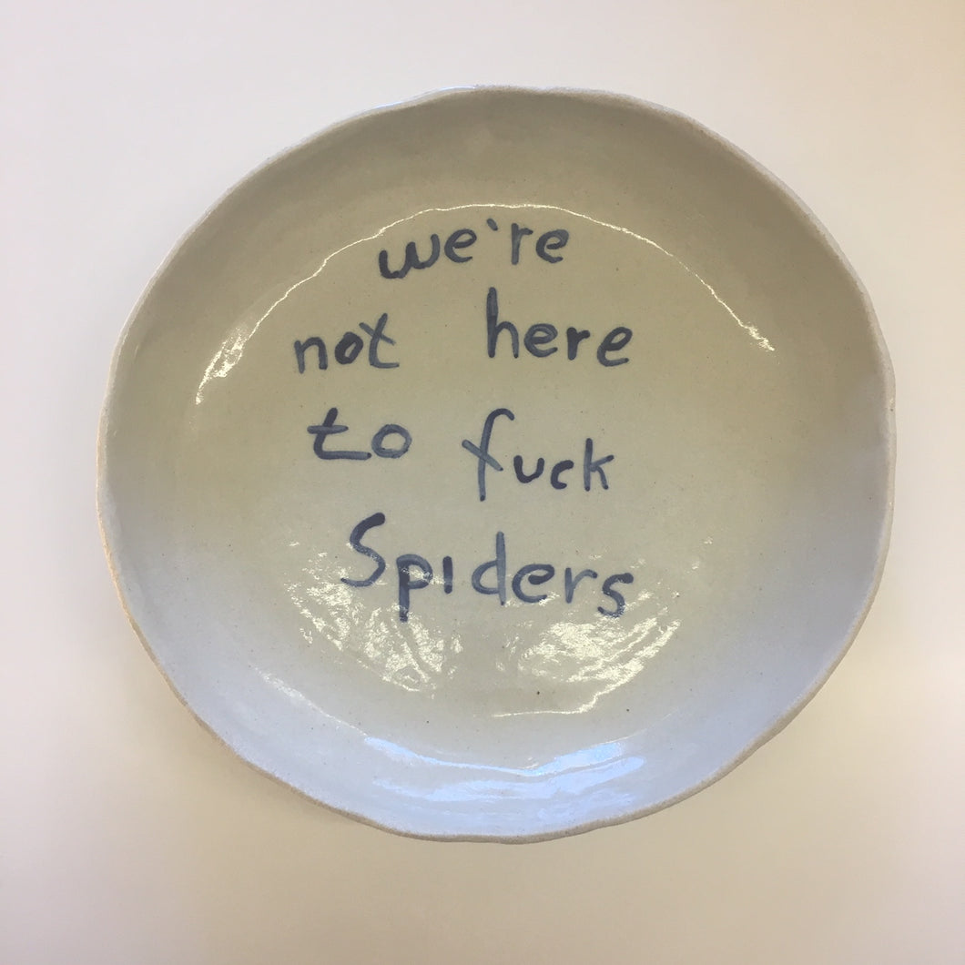 Spiders Large Serving Bowl