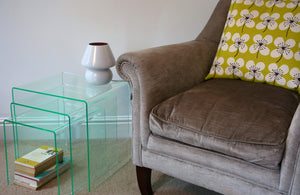 Classic Range Perspex® Acrylic Nesting Tables.