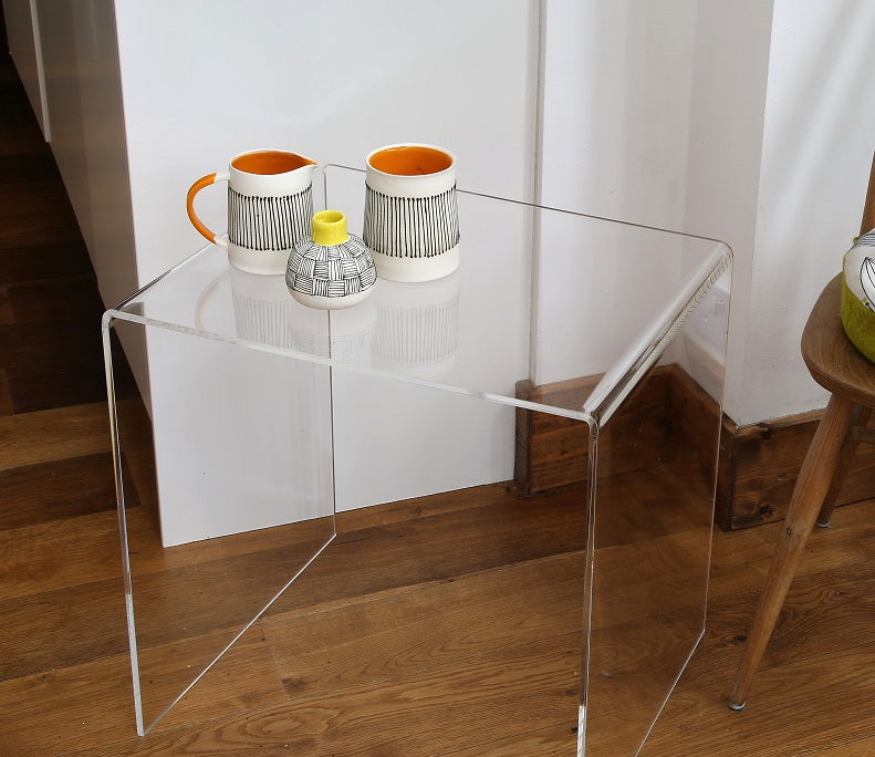 Perspex® Acrylic Side Table clear