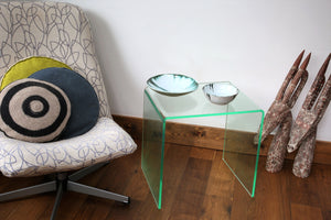 Perspex® Acrylic Side Table glass effect