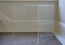 Perspex side table