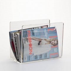 Clear Acrylic Perspex® Magazine Rack