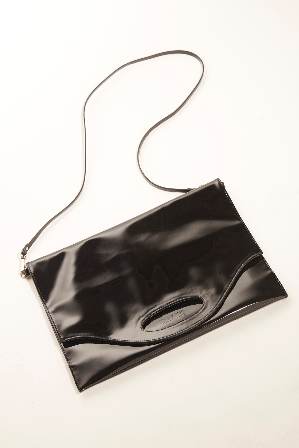Shopper Bag - Black Patent