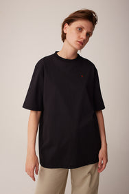 Split T-shirt Black