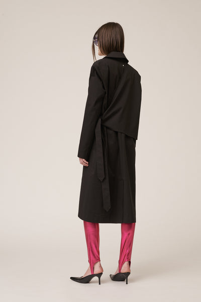 Belt Trenchcoat Black