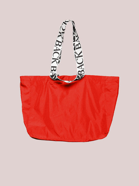 Logo Tote Red