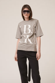 Scrabble Logo T-shirt Grey